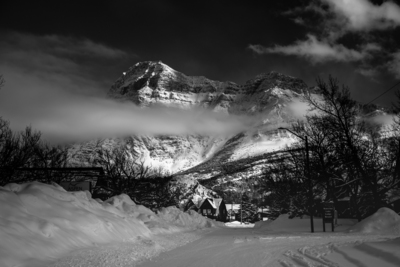 Waterton in winter