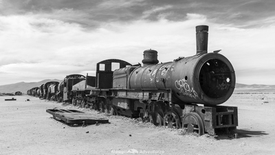 Bolivia Train Grave Yard