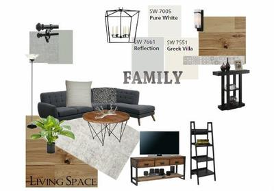 Living Space Moodboard