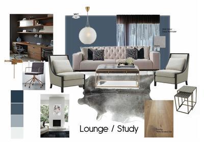 Lounge/Study Mood Board