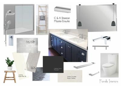 Beaconsfield Project: Master Ensuite Mood Board Proposal