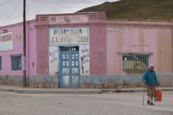 Straßenszene in Nordargentinien
