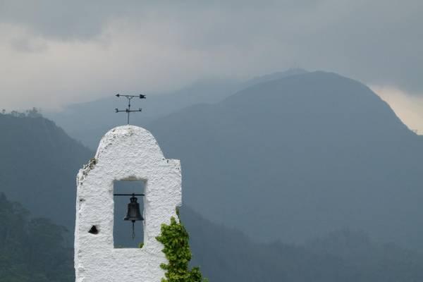 Blick vom Monserrate, dem Hausberg Bogotas