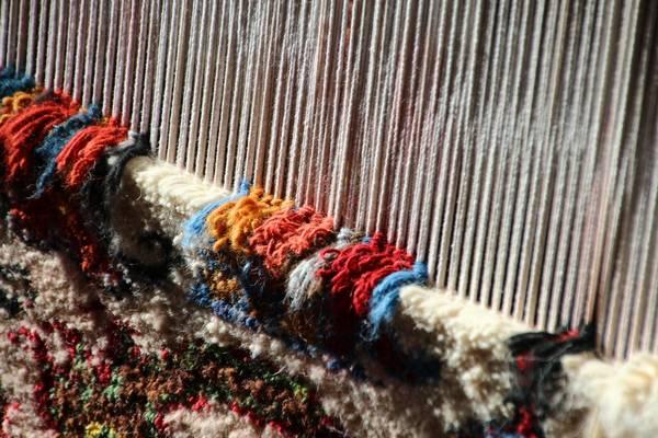 Bei den Teppichwebern, Iran