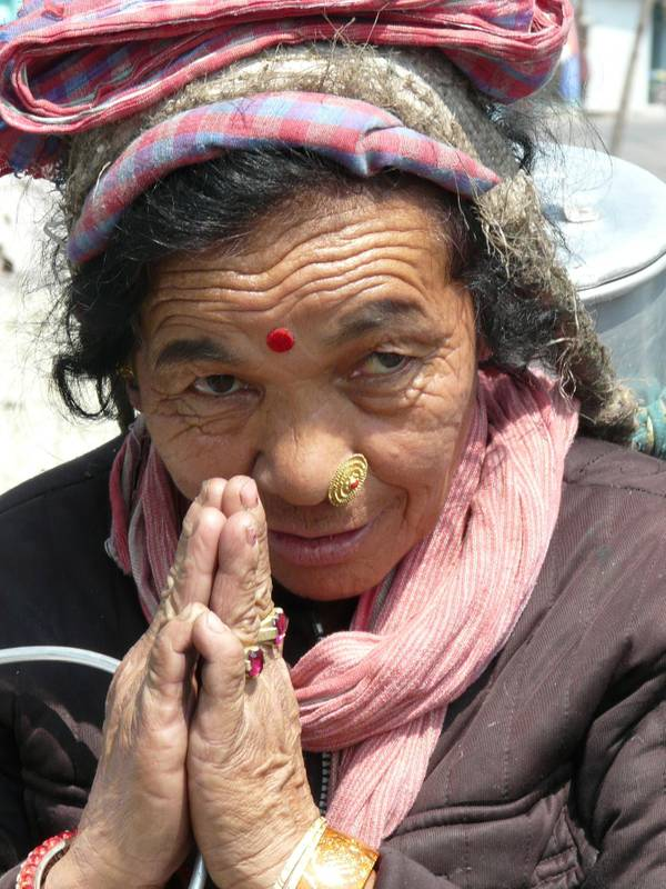 Begegnung in Darjeeling, Indien