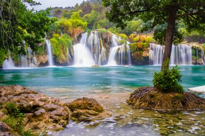 Waterval national park Krka