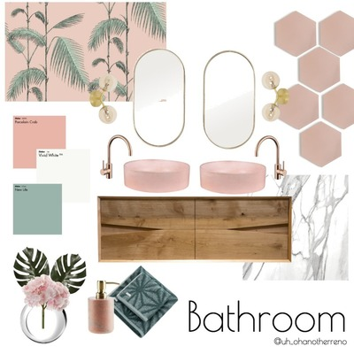 Palm Springs Bathroom Concept