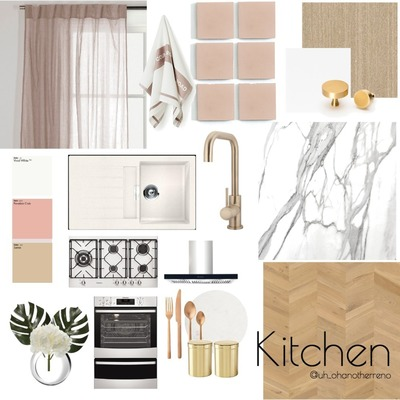 Palm Springs Kitchen Concept Board