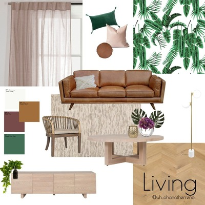 Palm Springs Living Concept Board