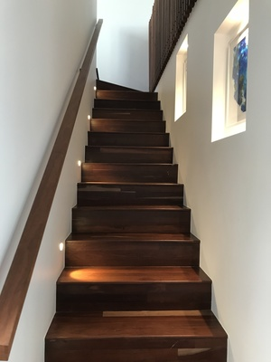 Archibald St Project Staircase Lighting Design