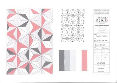 Designer Rugs 'Blush Crush' ISCD Rug Design