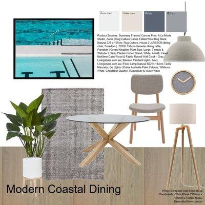Modern Coastal Dining