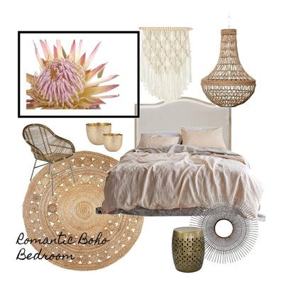 Romantic Boho Bedroom