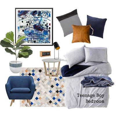 Teenage Boy Bedroom