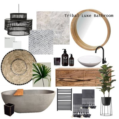 Tribal Luxe Bathroom