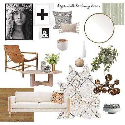 Boho Living Room Concept