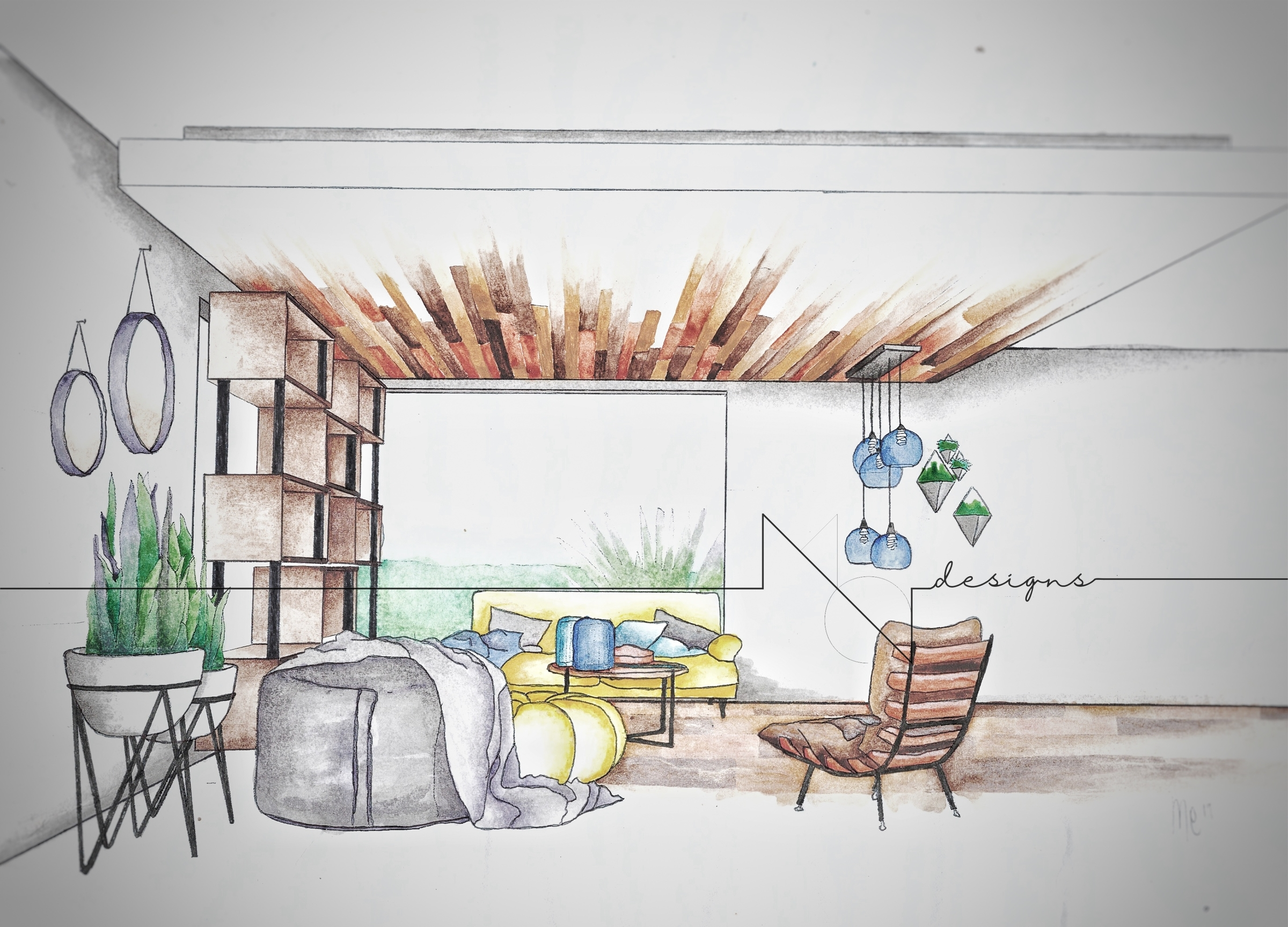 Art Three Point Perspective Drawing