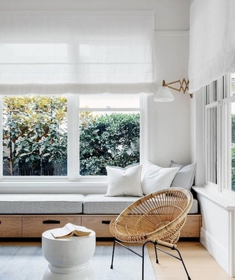 Afternoon reading nook