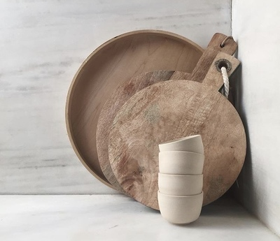 Kitchen Essentials- Ceramic and wood combo