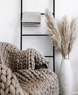 Warm, soft textures