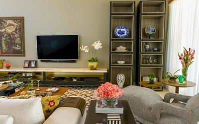 TV room and kids play