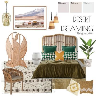 DESERT DREAMING MOOD BOARD